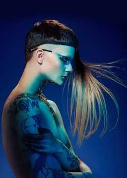 © Lea Shaw - Rural fringe Hair HAIR COLLECTION